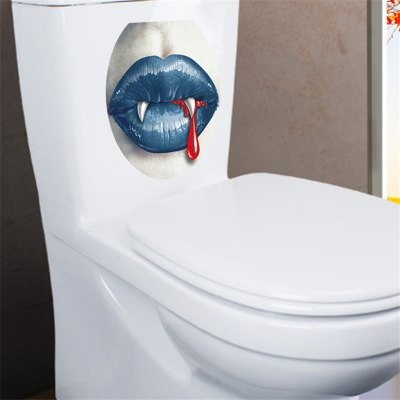 Creative Lip Toilet StickerWall Stickers<br>Creative Lip Toilet Sticker<br><br>Art Style: Toilet Stickers<br>Functions: Decorative Wall Stickers<br>Hang In/Stick On: Bathroom<br>Material: Self-adhesive Plastic, Vinyl(PVC)<br>Package Contents: 1 x Sticker<br>Package size (L x W x H): 30.00 x 36.00 x 0.50 cm / 11.81 x 14.17 x 0.2 inches<br>Package weight: 0.0470 kg<br>Product size (L x W x H): 28.00 x 33.00 x 0.20 cm / 11.02 x 12.99 x 0.08 inches<br>Product weight: 0.0400 kg