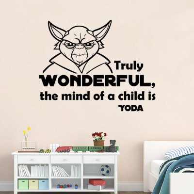 DSU Creative Cartoon Figure Wall StickerWall Stickers<br>DSU Creative Cartoon Figure Wall Sticker<br><br>Brand: DSU<br>Function: Decorative Wall Sticker<br>Material: Vinyl(PVC), Self-adhesive Plastic<br>Package Contents: 1 x Sticker<br>Package size (L x W x H): 60.00 x 5.00 x 5.00 cm / 23.62 x 1.97 x 1.97 inches<br>Package weight: 0.1400 kg<br>Product size (L x W x H): 58.00 x 35.00 x 0.10 cm / 22.83 x 13.78 x 0.04 inches<br>Product weight: 0.0700 kg<br>Quantity: 1<br>Subjects: Figure Painting<br>Suitable Space: Dining Room,Living Room<br>Type: Plane Wall Sticker