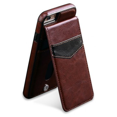Business Model Leather Phone Cover for iPhone 6 Plus / 6S Plus