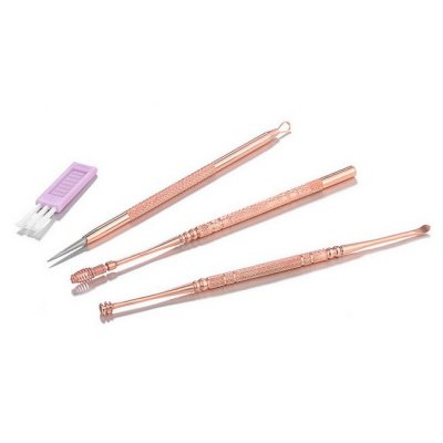 3 in 1 Earpicks / Acne Pimple Remover for Adults