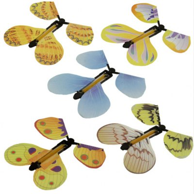 5pcs Magic Flying Butterfly
