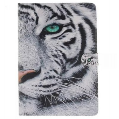 White Tiger Style Smart Cover for Samsung Galaxy Tab A T350