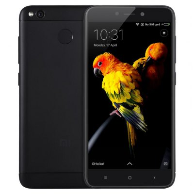 Xiaomi Redmi 4X 4G Smartphone - HK WAREHOUSE INTERNATIONAL VERSION 4GB RAM 64GB RO BLACK