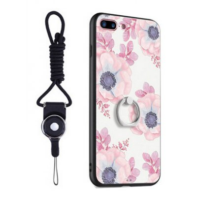 Pattern Creative Back Cover with Ring Holder for iPhone 7 Plus