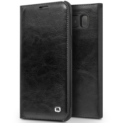 QIALINO Classic Genuine Leather Case Samsung Galaxy S8 Plus
