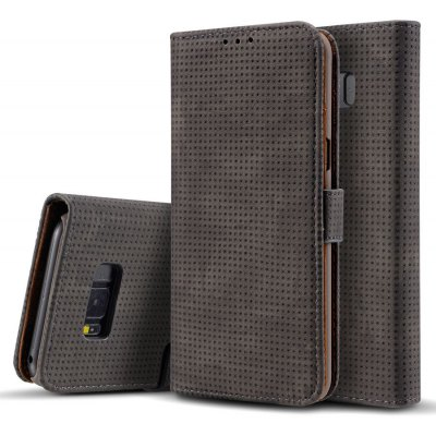 Breathable Flip Leather Case for Samsung Galaxy S8