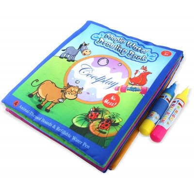 Animal-themed Boards Magic Water Drawing Book