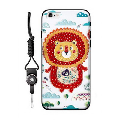 Relievo Cute Cartoon Mobile Shell for iPhone 6 Plus / 6S Plus