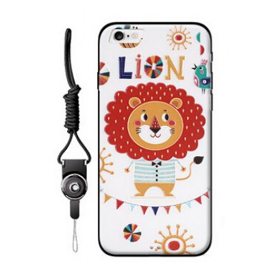 Popular Relievo Cartoon Mobile Shell for iPhone 6 Plus / 6S Plus