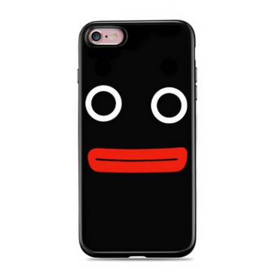 Plain Funny Face Cover Case for iPhone 6 / 6S