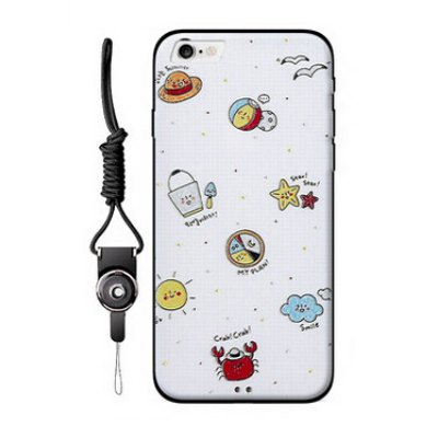 Pattern Painting Style Mobile Shell for iPhone 6 /6S