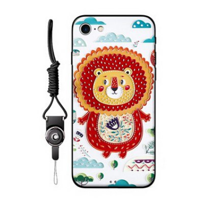 Relievo Cute Cartoon Mobile Shell for iPhone 7