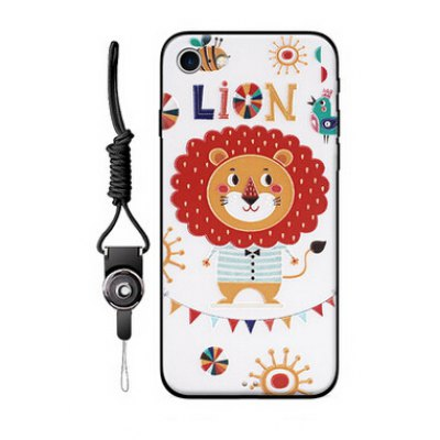 Popular Relievo Cartoon Pained Mobile Shell for iPhone 7