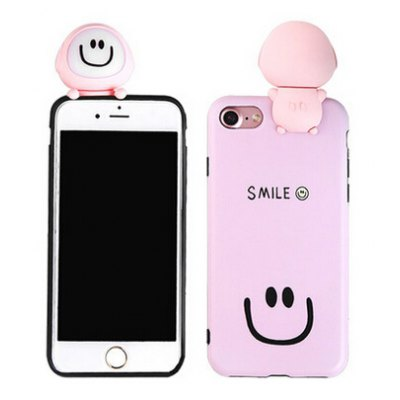 3D Cartoon Cute Phone Soft Protective Case for iPhone 7