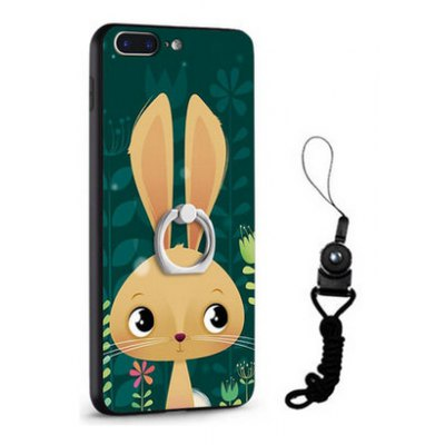 Relief Cartoon Rabbit Style Mobile Cover for iPhone 7 Plus
