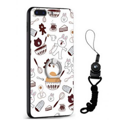 Relief Cartoon Design Theme Mobile Cover for iPhone 7 Plus