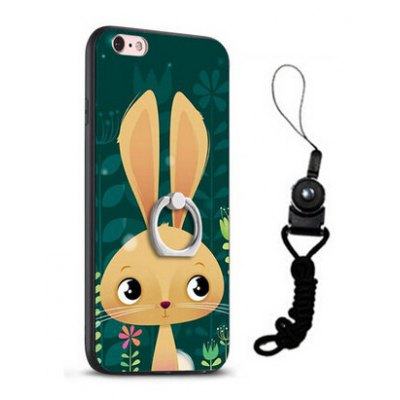 Relief Cartoon Rabbit Style Mobile Cover for iPhone 6 / 6S