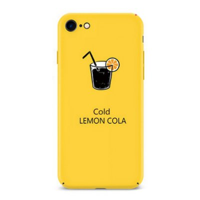 Lemon Drinking Theme Mobile Protective Shell for iPhone 7