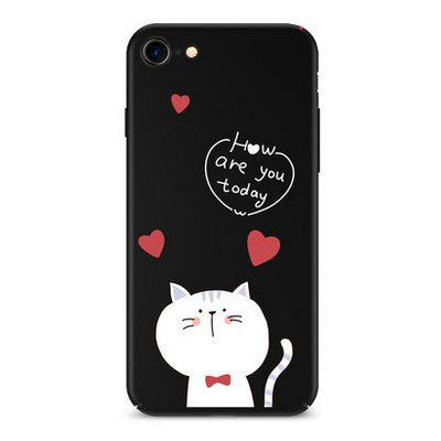 Cute Cat Cartoon Theme Mobile Protective Shell for iPhone 7