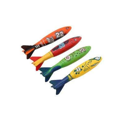 4pcs Creative Swim Ways Summer Beach Toy Dive Torpedo for KidsPretend Play<br>4pcs Creative Swim Ways Summer Beach Toy Dive Torpedo for Kids<br><br>Age: 3 Years+<br>Applicable gender: Unisex<br>Design Style: Other<br>Features: Others<br>Material: PVC<br>Package Contents: 4 x Torpedo<br>Package size (L x W x H): 19.50 x 20.00 x 4.00 cm / 7.68 x 7.87 x 1.57 inches<br>Package weight: 0.2000 kg<br>Product size (L x W x H): 13.00 x 3.50 x 3.50 cm / 5.12 x 1.38 x 1.38 inches<br>Product weight: 0.1700 kg<br>Small Parts : No<br>Type: Water Toys<br>Washing: Yes