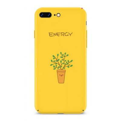 Potted Plant Theme Mobile Protective Shell for iPhone 7 Plus