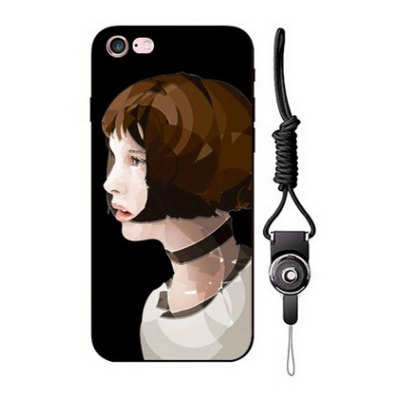 Relievo Short Hair Woman Case for iPhone 6 Plus / 6S Plus