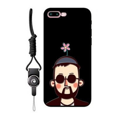 Relievo Uncle Image Mobile Phone Case for iPhone 7 Plus