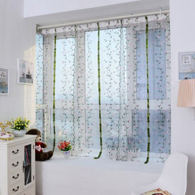 1PC Embroidered Window Screening