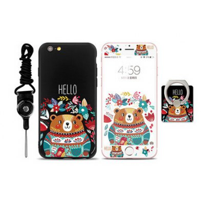 Cute Animal Pattern Cover Case for iPhone 6 Plus / 6S Plus