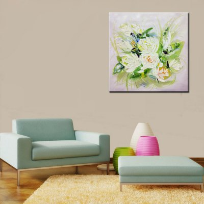 Canvas White Flowers Oil Painting Modern ArtOil Paintings<br>Canvas White Flowers Oil Painting Modern Art<br><br>Craft: Oil Painting<br>Form: One Panel<br>Material: Canvas<br>Package size (L x W x H): 72.00 x 6.00 x 6.00 cm / 28.35 x 2.36 x 2.36 inches<br>Package weight: 0.4500 kg<br>Painting: Without Inner Frame<br>Product size (L x W x H): 60.00 x 60.00 x 0.50 cm / 23.62 x 23.62 x 0.2 inches<br>Product weight: 0.3000 kg<br>Shape: Square<br>Style: Flower<br>Subjects: Flower<br>Suitable Space: Bedroom,Dining Room,Hallway,Indoor,Kids Room,Living Room,Pathway