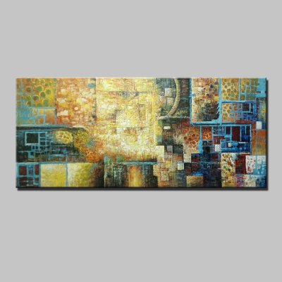 Abstract Style Canvas Oil Painting Modern Art