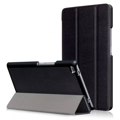 PU Tablet Case Tri-foldable Stand Function for Lenovo Tab 4 8