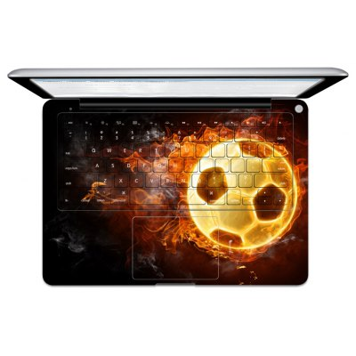Football Pattern Paster for MacBook Pro