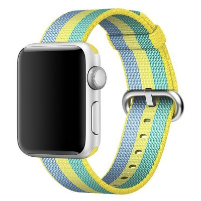 Colorful Nylon Watchband for 38mm Apple Watch