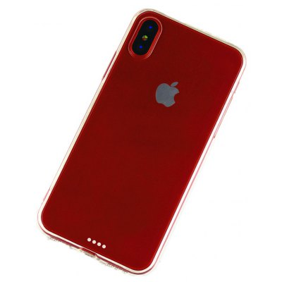 Slim Cover TPU PC Phone Case for iPhone X Mobile Protector Shell