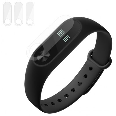 ENKAY 3pcs 0.1mm HD Protective Film for Xiaomi Miband 2