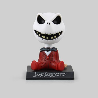 Movie Character Shaking Head Toy in Skull Style