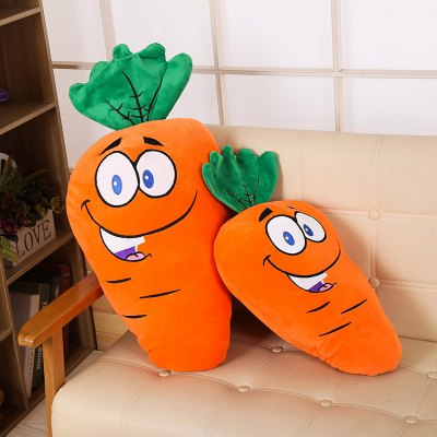 Stuffed Toy Feather Cotton Carrot Pillow