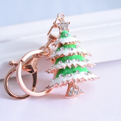 Beautiful Boutique Pendant Christmas Tree Key Ring