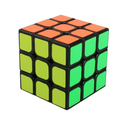 YJ Guanglong 57mm 3 x 3 x 3 Adjustable Speed Magic Cube Toy