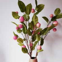 LmDec Artificial Apple Branch for Decoration