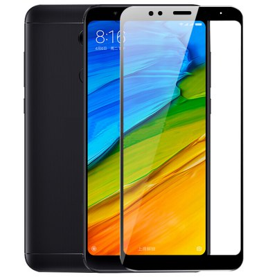 ASLING 2.5D Arc Edge Tempered Glass for Xiaomi Redmi 5