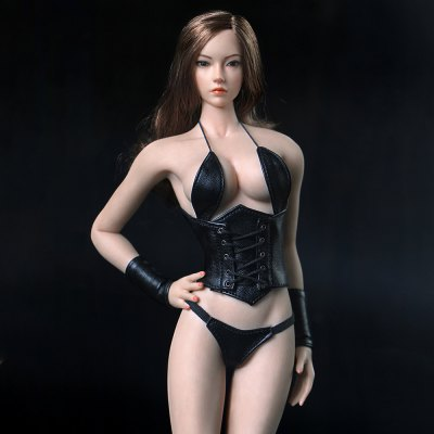 Muscle Female Body for 1:6 Scale Model Toy