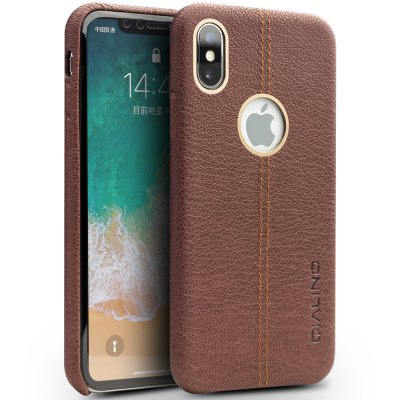 QIALLINO Knock-proof Back Cover Case for iPhone X