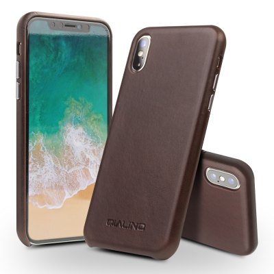 QIALLINO Drop-proof Back Cover Case for iPhone X
