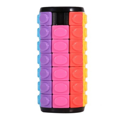 QiYi Magic Finger Cube Cylindrical Puzzle Toy Gift 7 Layers