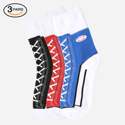 Sneaker Silly Socks 3 Pairs