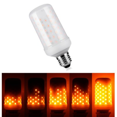 Led Flame Bulbs- E27 Standard Base Flickering Fire Atmosphere Decorative Lamps for Hotel/ Bars/ Home Decoration/ Restaurants