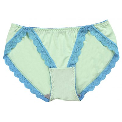 Viscose Comfortable Lace Trim Modal Hipster Underwear Panty