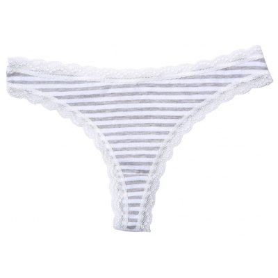 Viscose Comfortable Lace Trim Hipster Underwear Panty